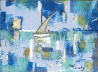 Derive : peinture acrylique sur toile 30 cm x 40 cm