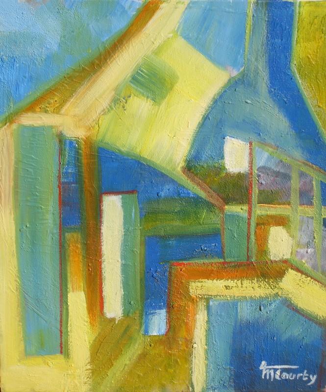 Maison abstraite