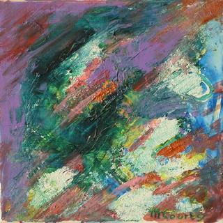 Matieres : peintre acrylique sur toile
