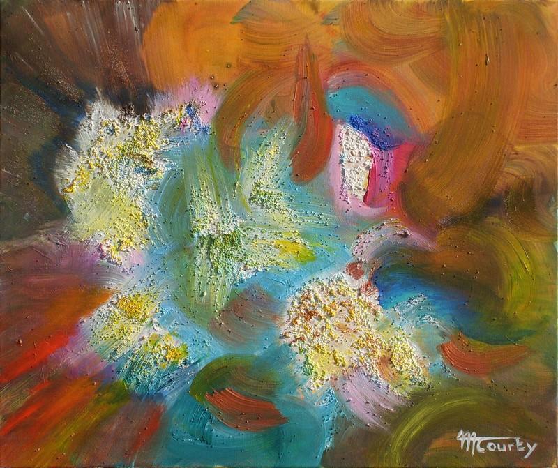 Nova: peinture acrylique sur toile 55 cm x 46 cm