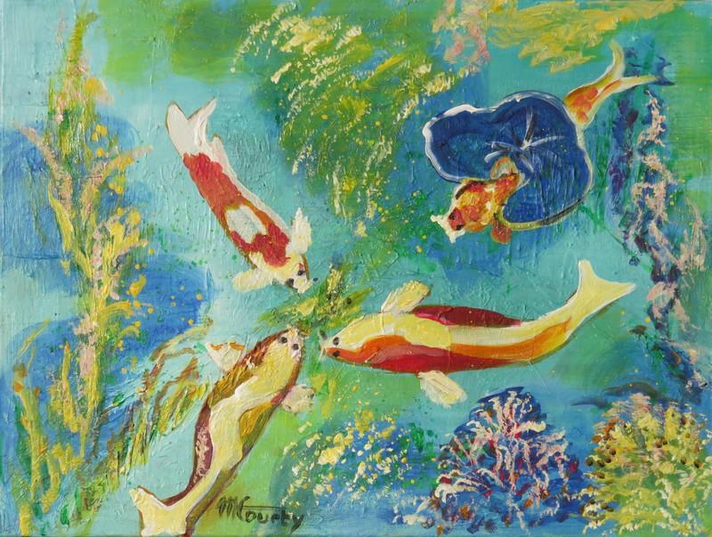Poissons exotiques et coraux