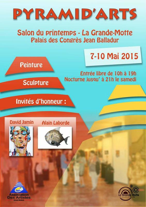Pyramid`arts 2015 : Exposition du 7 au 10 mai 2015