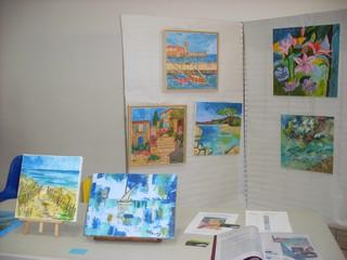 Exposition 10 ème des artistes sussarguois 2013